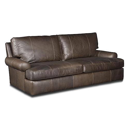 Bradington Young Irrina Casual Leather Sofa