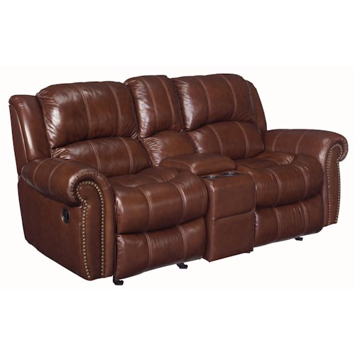 Hooker Furniture SS601 Entertainment Console Glider Recliner Loveseat