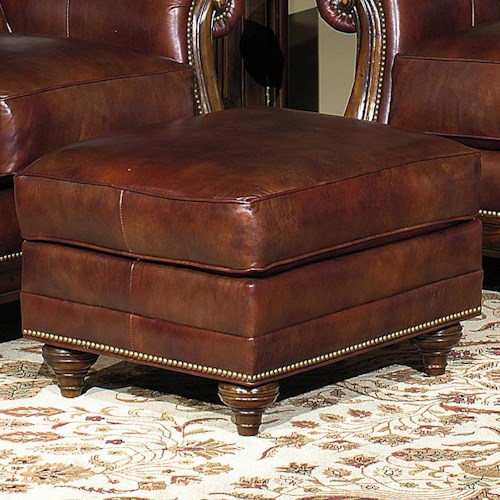 Bradington Young Sheffield Decorative Ottoman
