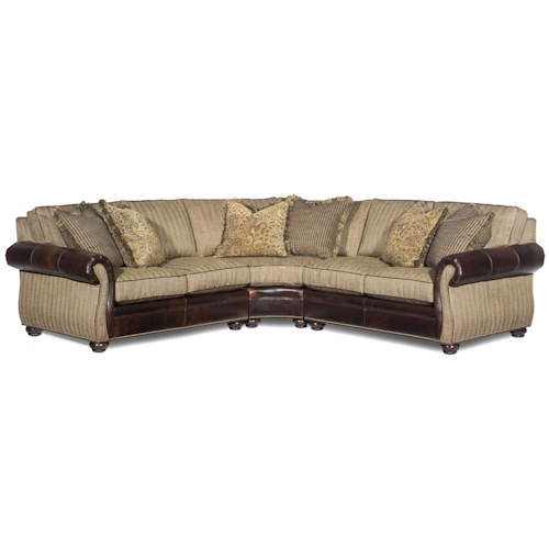 Bradington Young Sterling  Corner Sectional Sofa