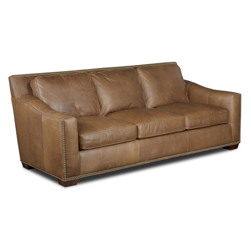 Bradington Young Winchester Contemporary Sofa with Nailhead Border