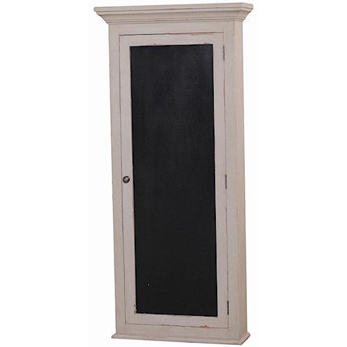 Bramble Cottage Newport Cupoard w/ Chalkboard Door