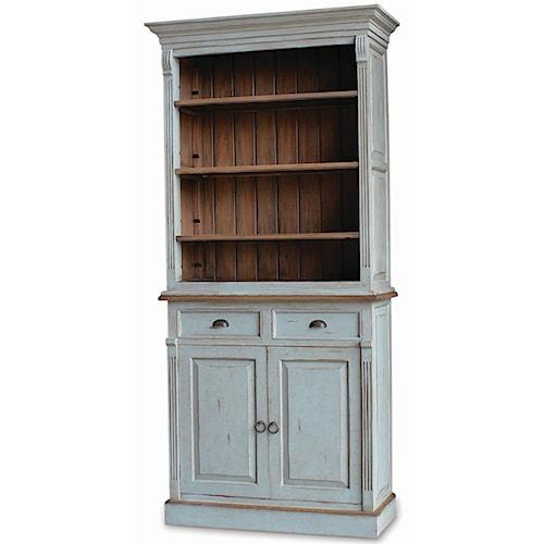 Bramble Homestead Hudson Narrow Open Bookcase