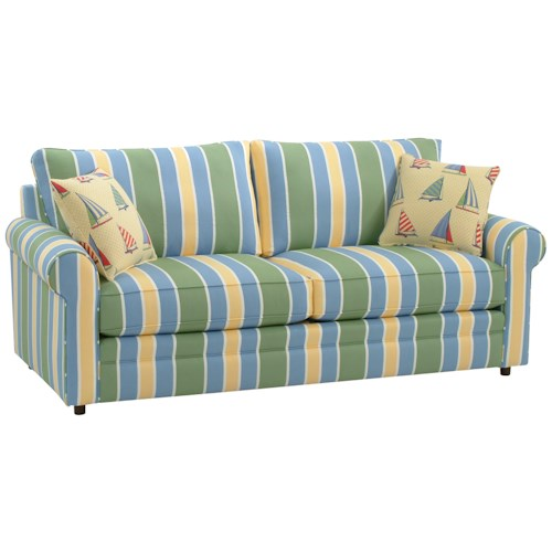 Vendor 10 Edgeworth Upholstered Sleeper Sofa with Welt Cord Trim