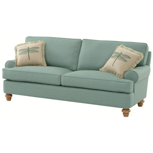 Vendor 10 773 Lowell Stationary Cottage Styled Sofa