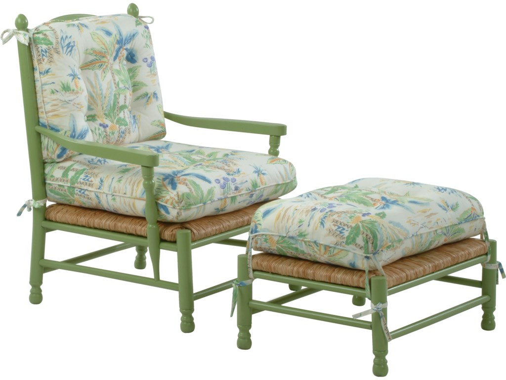 Shown with Coordinating Vineyard Ottoman