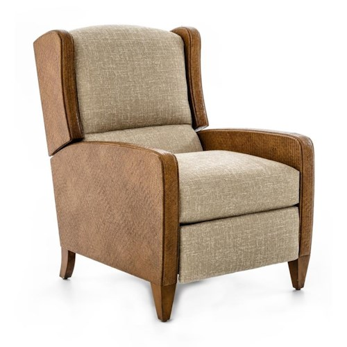 Braxton Culler Accent Chairs Power High Leg Recliner