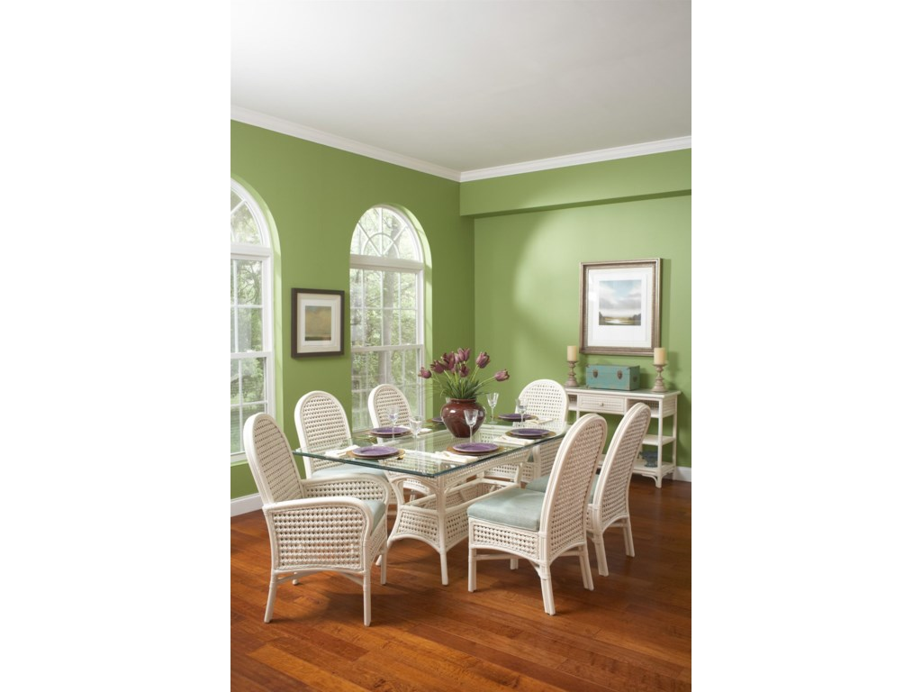 Shown with Armchair and Rectangular Table