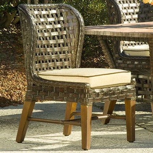 Vendor 10 Lake Geneva Side Chair w/ Curved Back