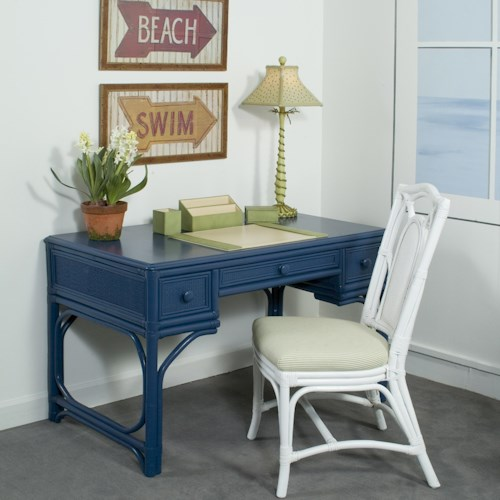 Vendor 10 Summer Retreat Writing Desk w/ 3 Drawers