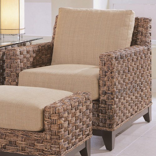 Braxton Culler Tribeca 2960 Modern Wicker Chair