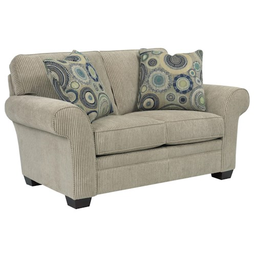 Broyhill Express Zachary Quick Ship Loveseat