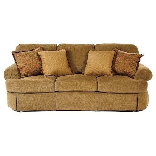 Broyhill Furniture Vera Skirted Sofa
