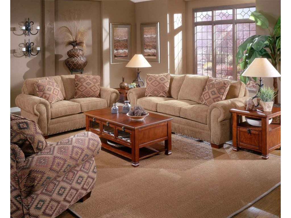 Loveseat Shown with Sofa.