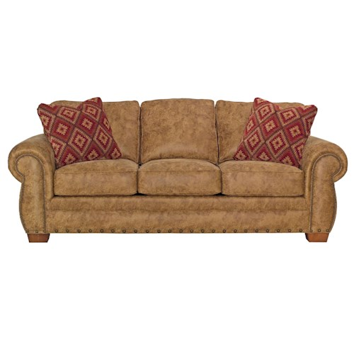 Broyhill Furniture Cambridge Queen IREST Sleeper Sofa