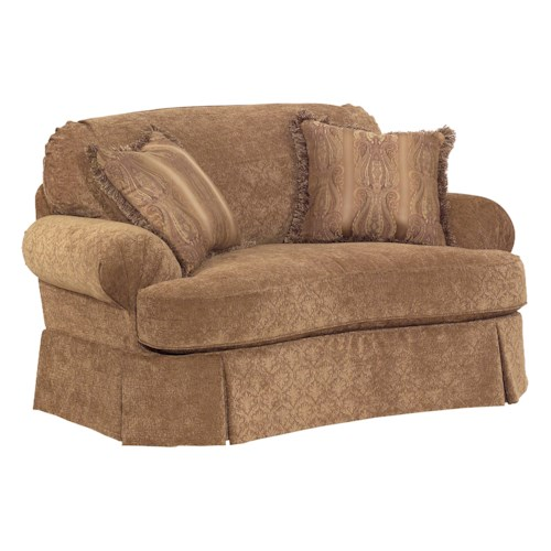 Broyhill Furniture McKinney Chair and A Half