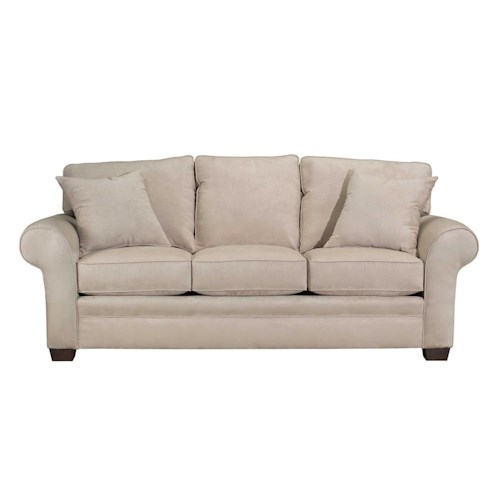 Broyhill Furniture Zachary Upholstered Stationary Sofa