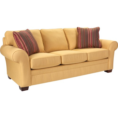 Broyhill Furniture Lagoona Upholstered Stationary Sofa