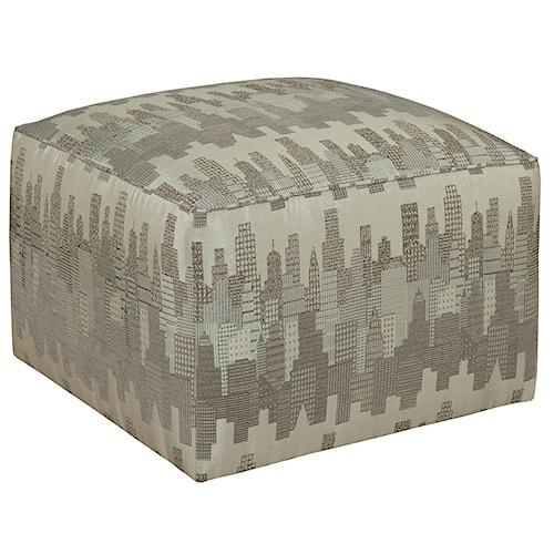 Broyhill Furniture Ottomans Chloe Contemporary Cube Ottoman