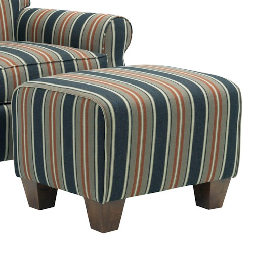 Broyhill Furniture Anya Transitional Chair Ottoman