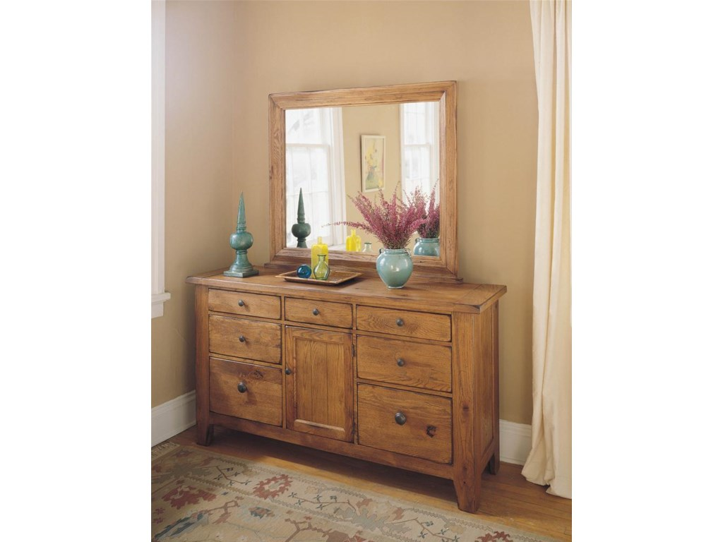 Shown with Dresser Mirror