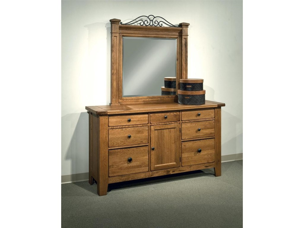 Shown with Mansion Dresser Mirror