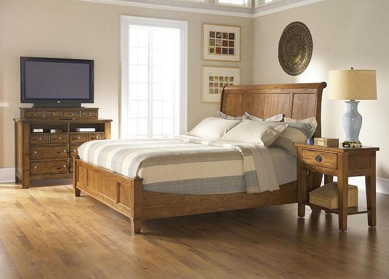 Shown with Low Sleigh Bed