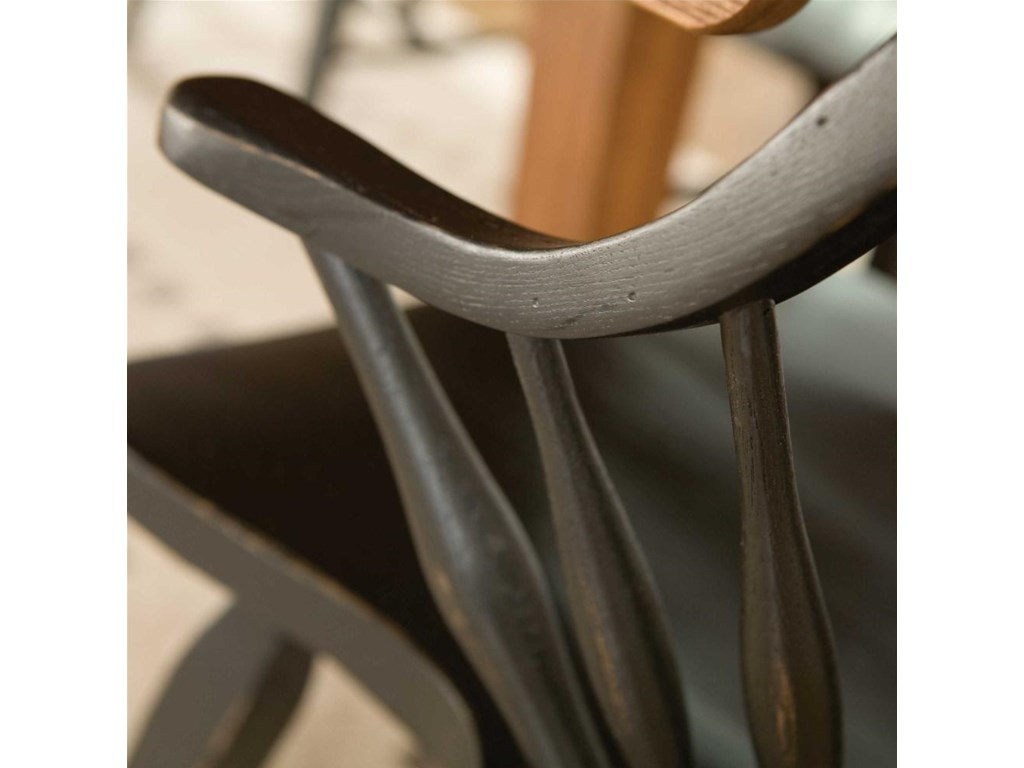 Windsor Arm Chair Detail