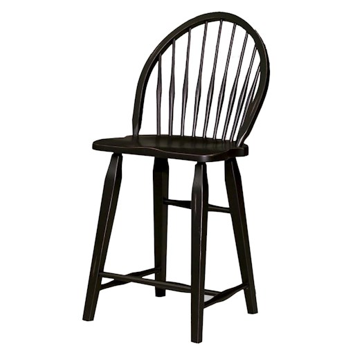 Broyhill Furniture Attic Heirlooms Windsor Counter Stool