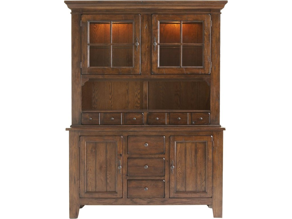 Broyhill Attic Heirloom Dining Table Broyhill Furniture Attic Rustic China Cabinet Baers Furniture