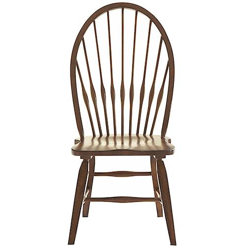Broyhill Furniture Attic Rustic Windsor Side Chair
