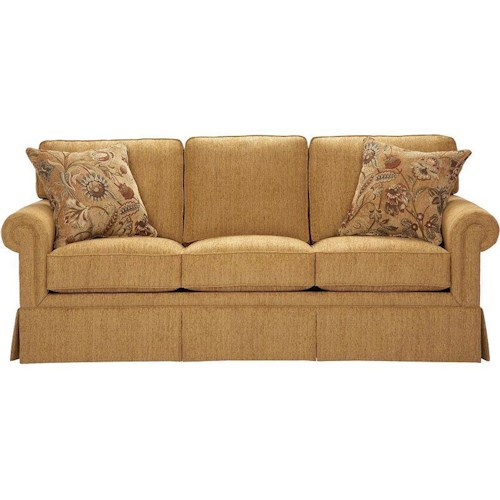Broyhill Furniture Audrey Traditional Queen Sleeper Sofa