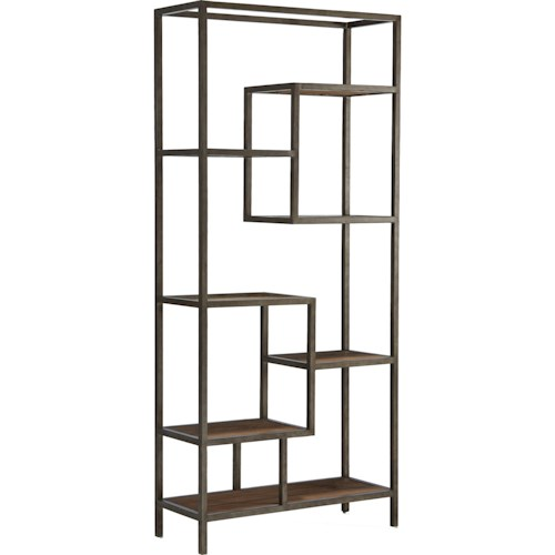 Broyhill Furniture Bedford Avenue Rutledge Street Step Shelf Etagere