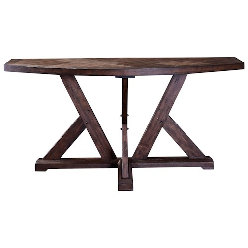 Broyhill Furniture Bedford Avenue Myrtle Avenue Piece Works Console Table