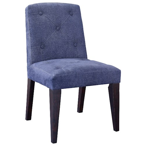 Broyhill Furniture Bedford Avenue Park Place Thunder Cloud Side Chair