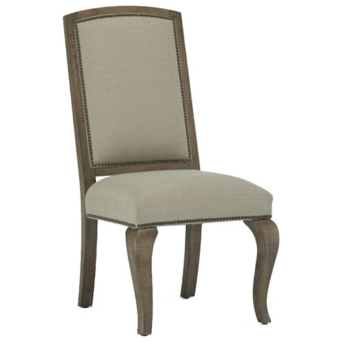 Broyhill Furniture Bedford Avenue Flushing Avenue Tapestry Side Chair