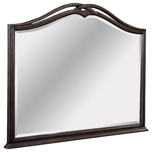 Broyhill Furniture Cashmera Mirror with Decorative Frame