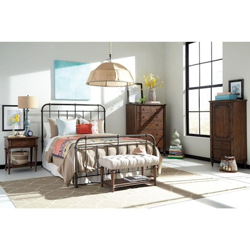 Broyhill Furniture Cranford California King Bedroom Group