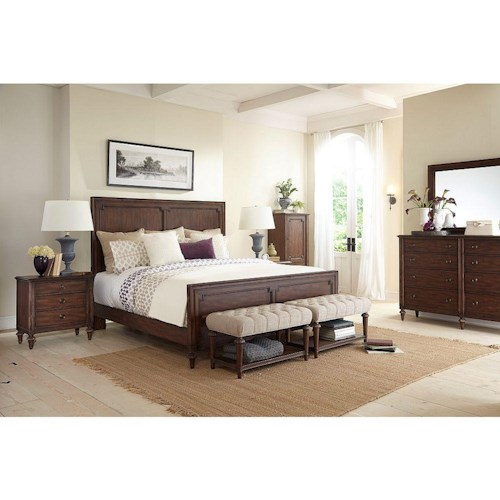 Broyhill Furniture Cranford Queen Bedroom Group