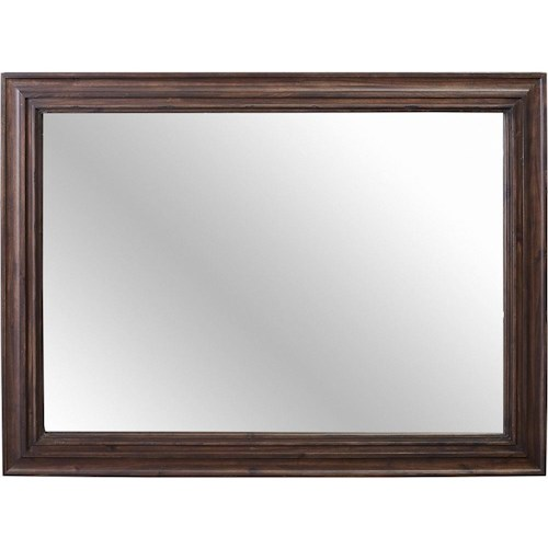 Broyhill Furniture Cranford Chesser Mirror with Wood Frame