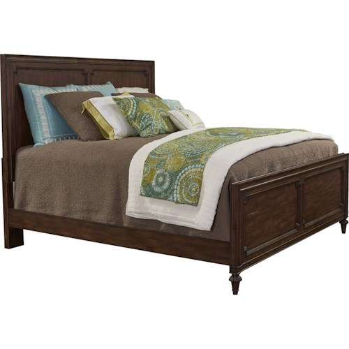 Broyhill Furniture Cranford Queen Wood Panel Bed