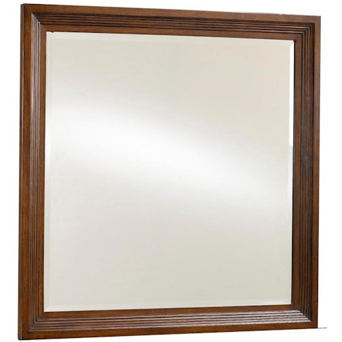 Broyhill Furniture Eastlake 2 Landscape Dresser Mirror with Mirror Supports