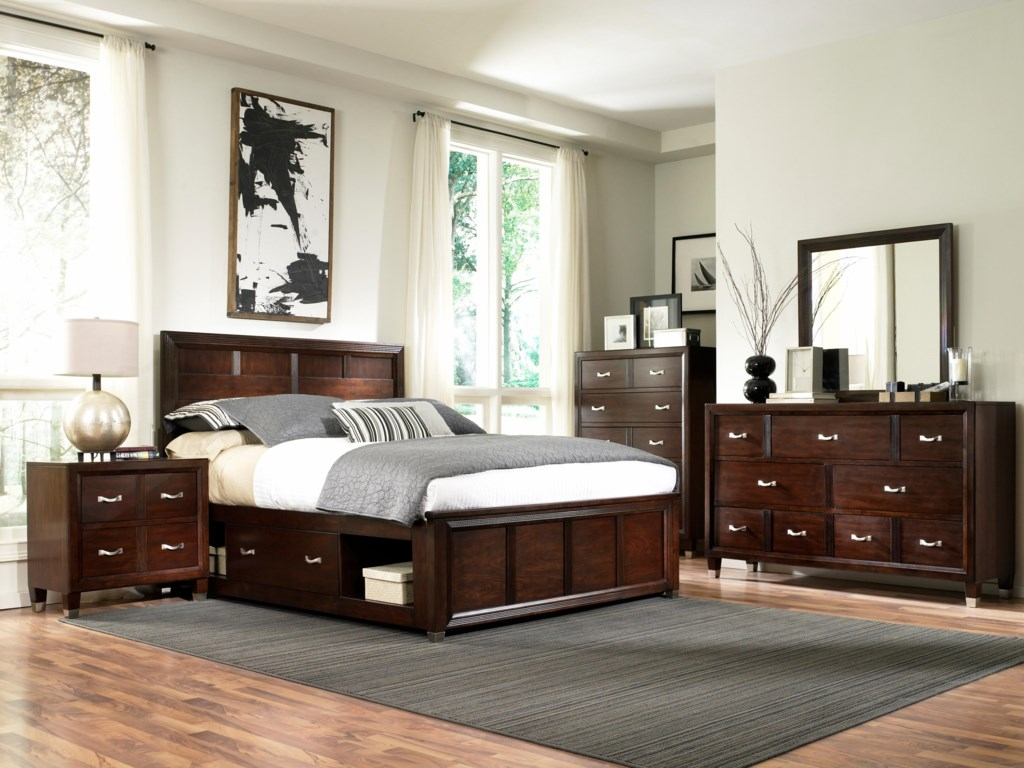 Shown with Dresser, Mirror, Bed and Nighstand