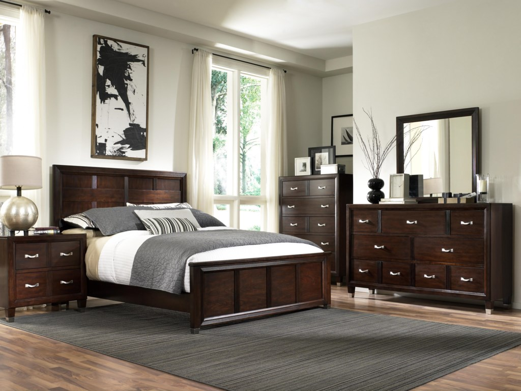 Shown with Dresser, Mirror, Chest and Nightstand.