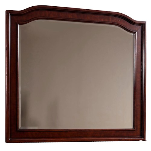 Broyhill Furniture Elaina Landscape Mirror with Beveled Glass