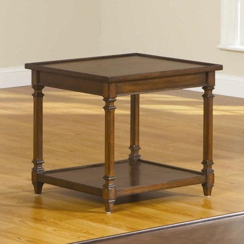 Broyhill Furniture Embassy 2 Rectangular End Table