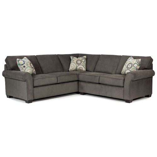 Broyhill Furniture Ethan Two-piece Sectional... AS SHOWN ONLY!!