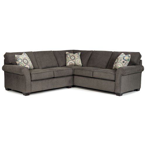 Broyhill Furniture Penobscot Two Piece Sectional with Corner Sofa