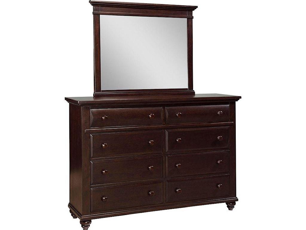 Shown with Landscape Dresser Mirror