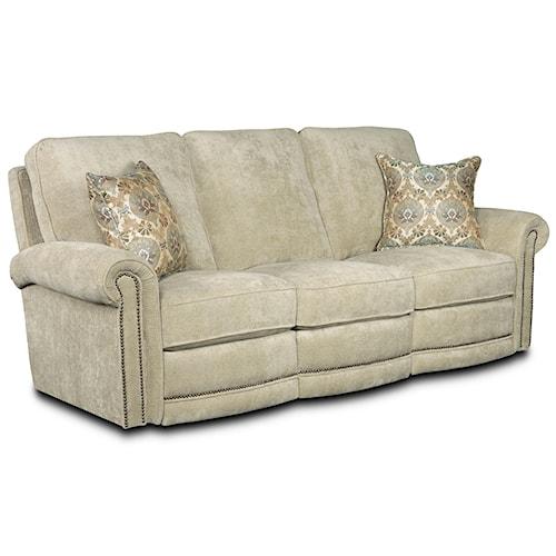 Lane Jasmine  Traditional Manual Reclining Sofa